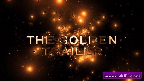 The Golden Trailer - After Effects Template (Motion Array)