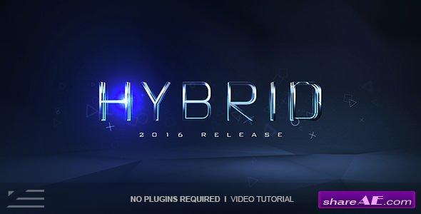 Videohive Hybrid Logo Reveal