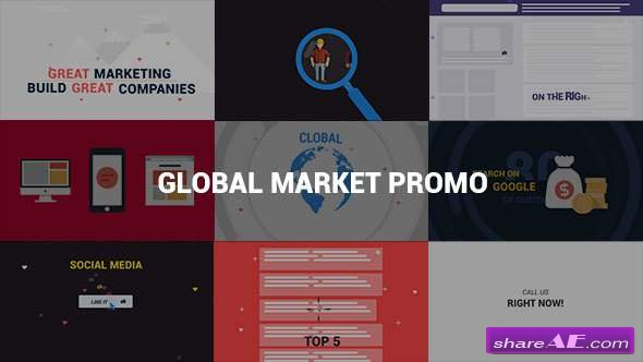 Videohive Global Market Promo