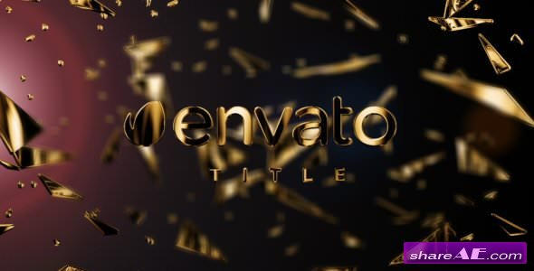 Videohive Gold Fragments