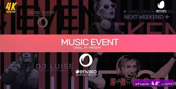 Videohive Music Event
