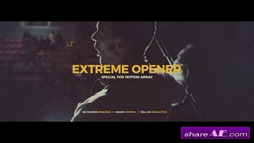 Extreme Opener - After Effects Template (Motion Array)
