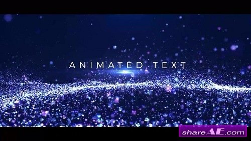 Particles Titles - After Effects Template (Motion Array)