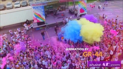 Urban Dynamic Slideshow - After Effects Template (Motion Array)