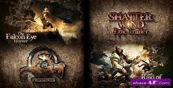 Videohive Shatter Wind Epic Trailer