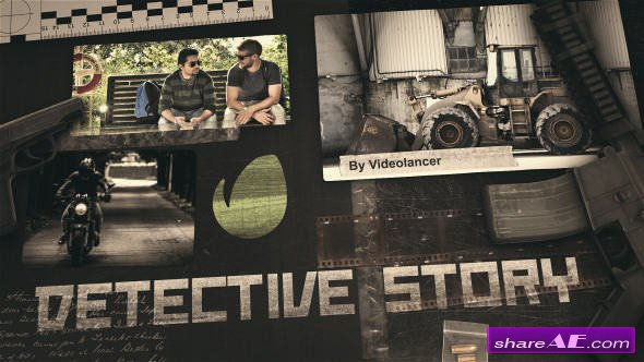Detective Story - After Effects Templates (Videohive)