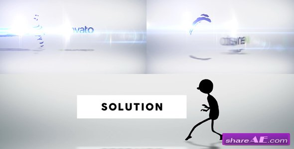 Videohive Character Logo Reveal