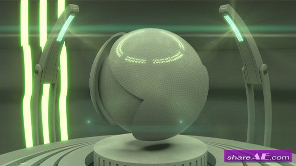 Videohive Mechanical Logo Reveal