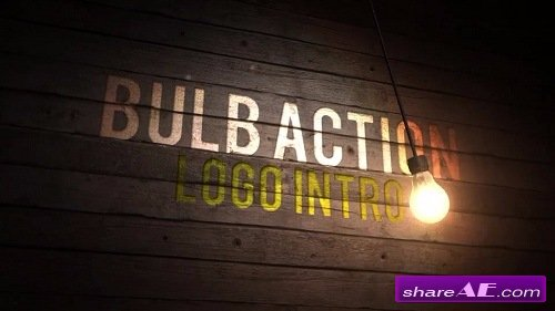 Bulb Action Logo Intro - After Effects Template (Motion Array)
