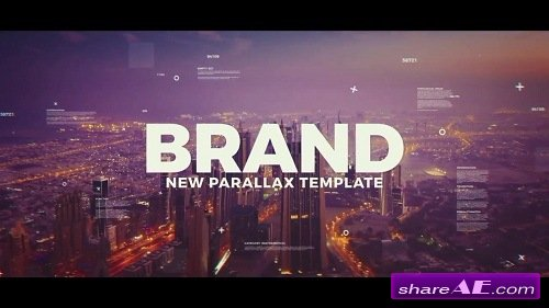Creative Parallax Slideshow - After Effects Template (Motion Array)