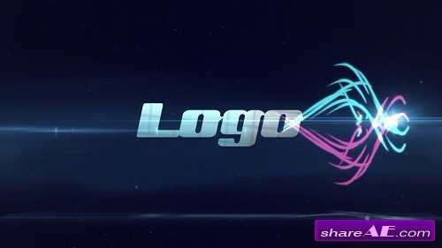 Light Streaks Logo - After Effects Template (Motion Array)