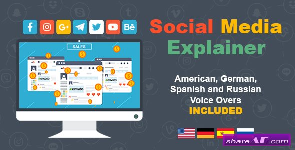 Videohive Social Media Explainer