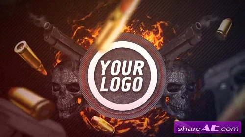 Action Logo - After Effects Template (Motion Array)
