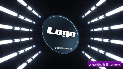Light Tunnel Logo - After Effects Template (Motion Array)