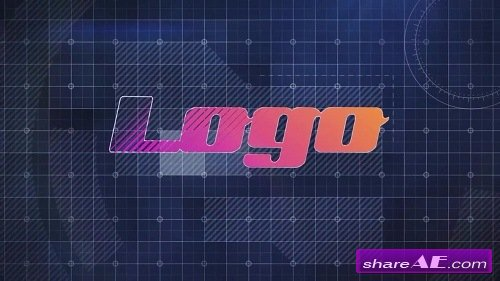 Tech Logo Reveal - After Effects Template (Motion Array)