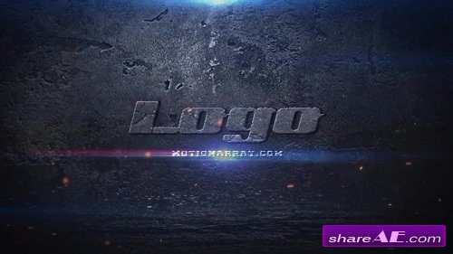Destruction Logo - After Effects Template (Motion Array)