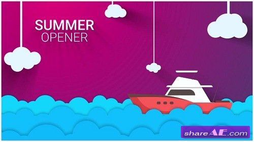 New Summer Vector Intro - After Effects Template (Motion Array)