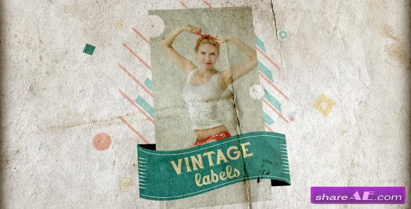 Videohive Vintage Labels 3 files