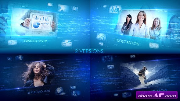Videohive Digital Words