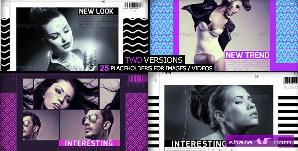 Videohive Fashion Slider