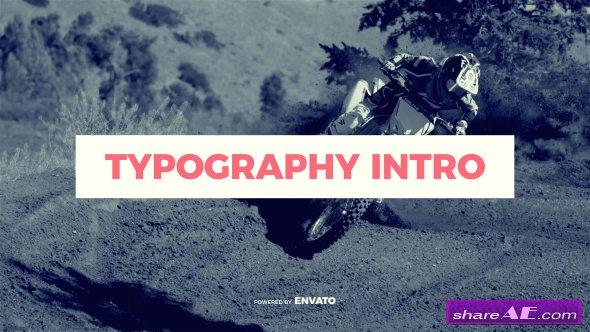 Videohive Typography Intro