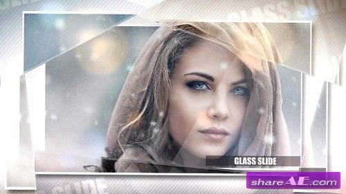 Glass Slideshow - After Effects Template (Motion Array)