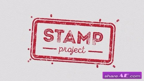 10 Animated Stamps - After Effects Template (Motion Array)