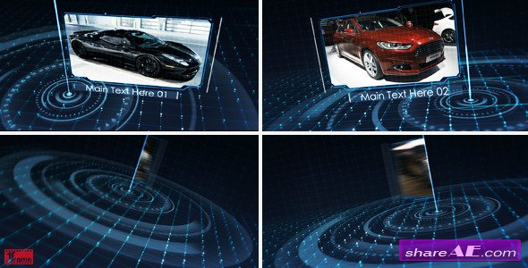 Videohive Tech Grid Show