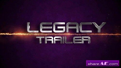 The Legacy Trailer - After Effects Template (Motion Array)