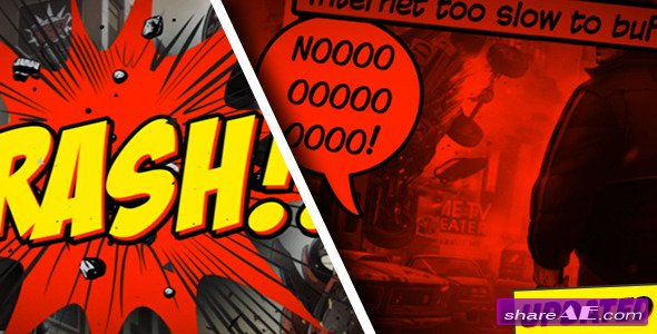 Videohive Comic Strip