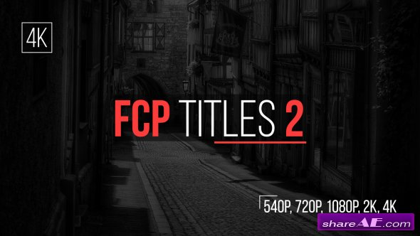 Videohive FCP Titles 2