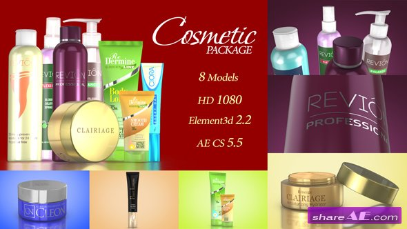 Videohive Cosmetic Package Template
