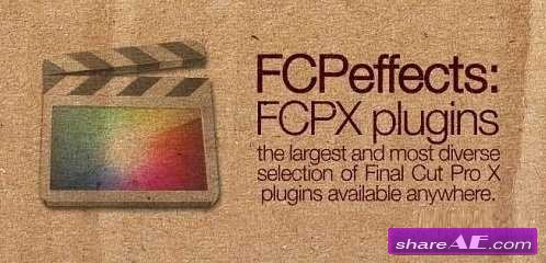 FCPEffects Plugins Bundle For Final Cut Pro X