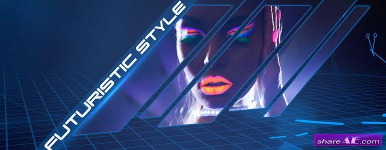 Light Grid - Futuristic Theme for Final Cut Pro X - Pixel Film Studios