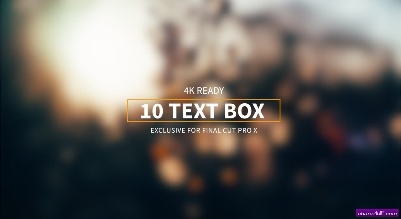 Final Cut Pro X Plugins & Effects » free after effects