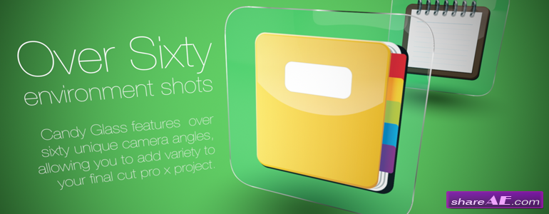 Candy Glass - Professional Theme for Final Cut Pro X  - Pixel Film Studios