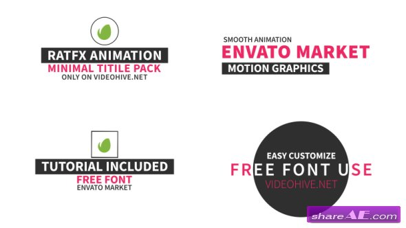 Videohive 40 Title Pack