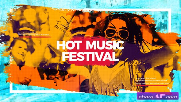 Videohive Hot Music Festival