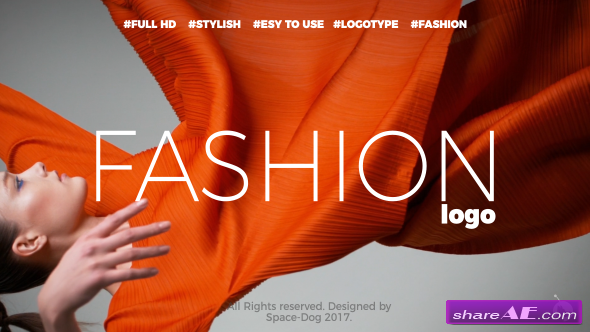 Videohive Fashion Stomp Logo
