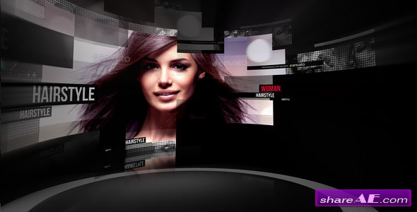 Videohive Curved Screen