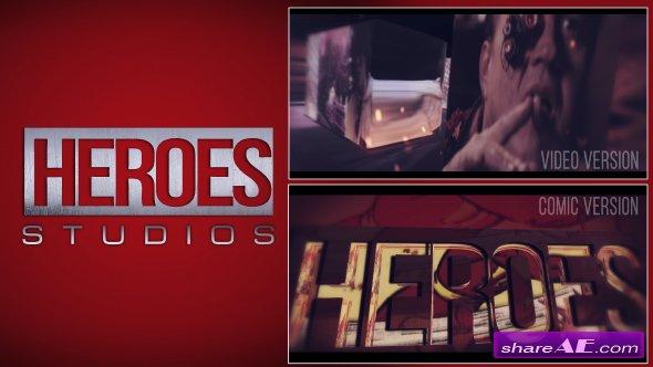 Videohive Heroes Logo