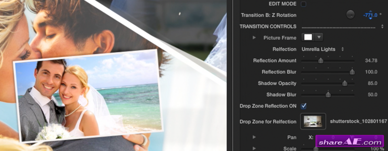 TransPic - Picture Transitions for Final Cut Pro X - Pixel Film Studios