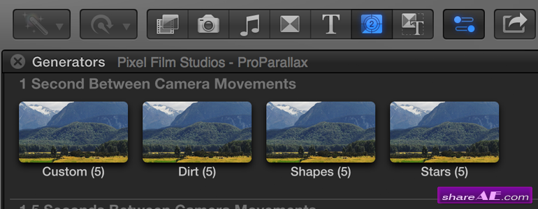 ProParallax - Media Parallaxing Tool for Final Cut Pro X - Pixel Film Studios