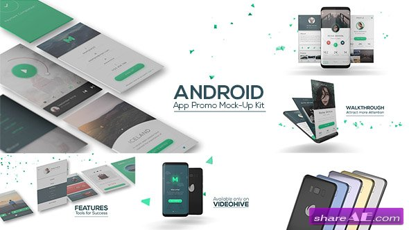 Videohive Android App Promo Mock-Up Kit