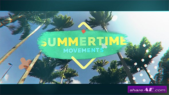 Videohive Summertime Movements - Bright Opener