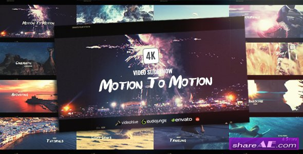 Videohive Motion To Motion | Sports Journey Slideshow