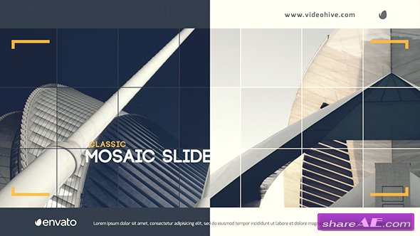 Videohive Classic Mosaic Slide