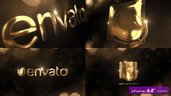 Videohive Elegant Gold Logo Reveal