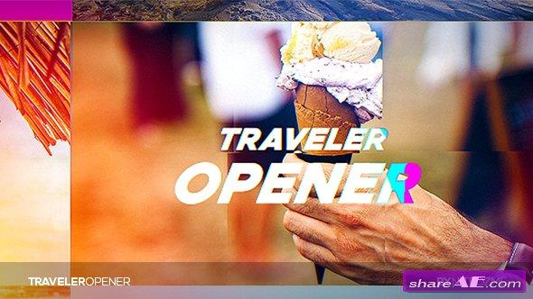 Videohive Traveler Opener