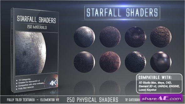 Videohive Starfall Shaders